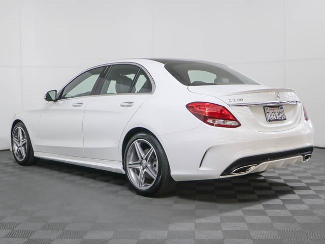 Super Certified Pre-Owned 2016 Mercedes-Benz C-Class C 300 Sport Sedan QN-82