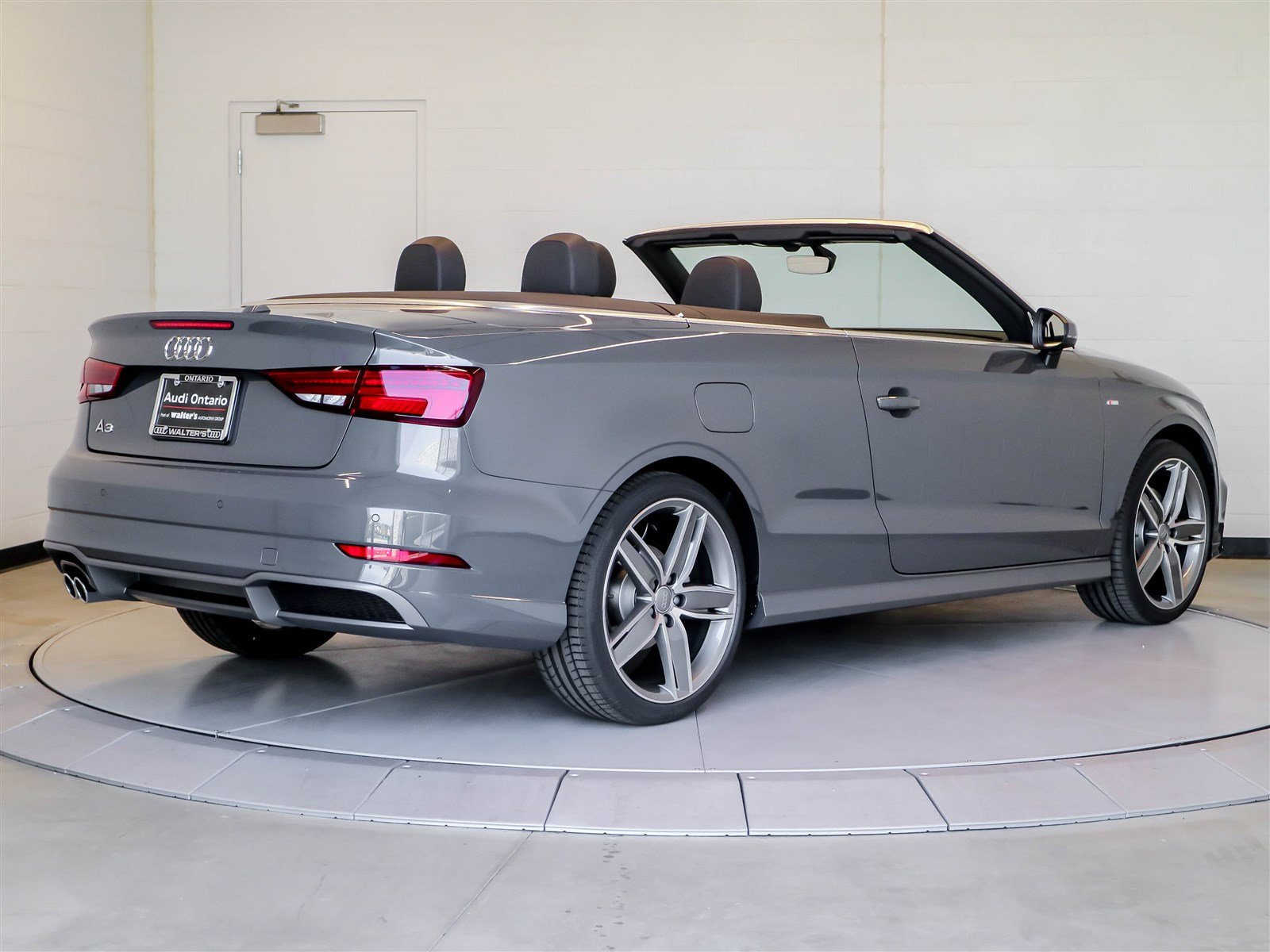 New 2018 audi a3 cabriolet premium plus convertible near for Walters mercedes benz riverside