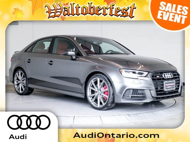 New Audi S Premium Plus Sedan Near Riverside K Walters - 2018 audi s3