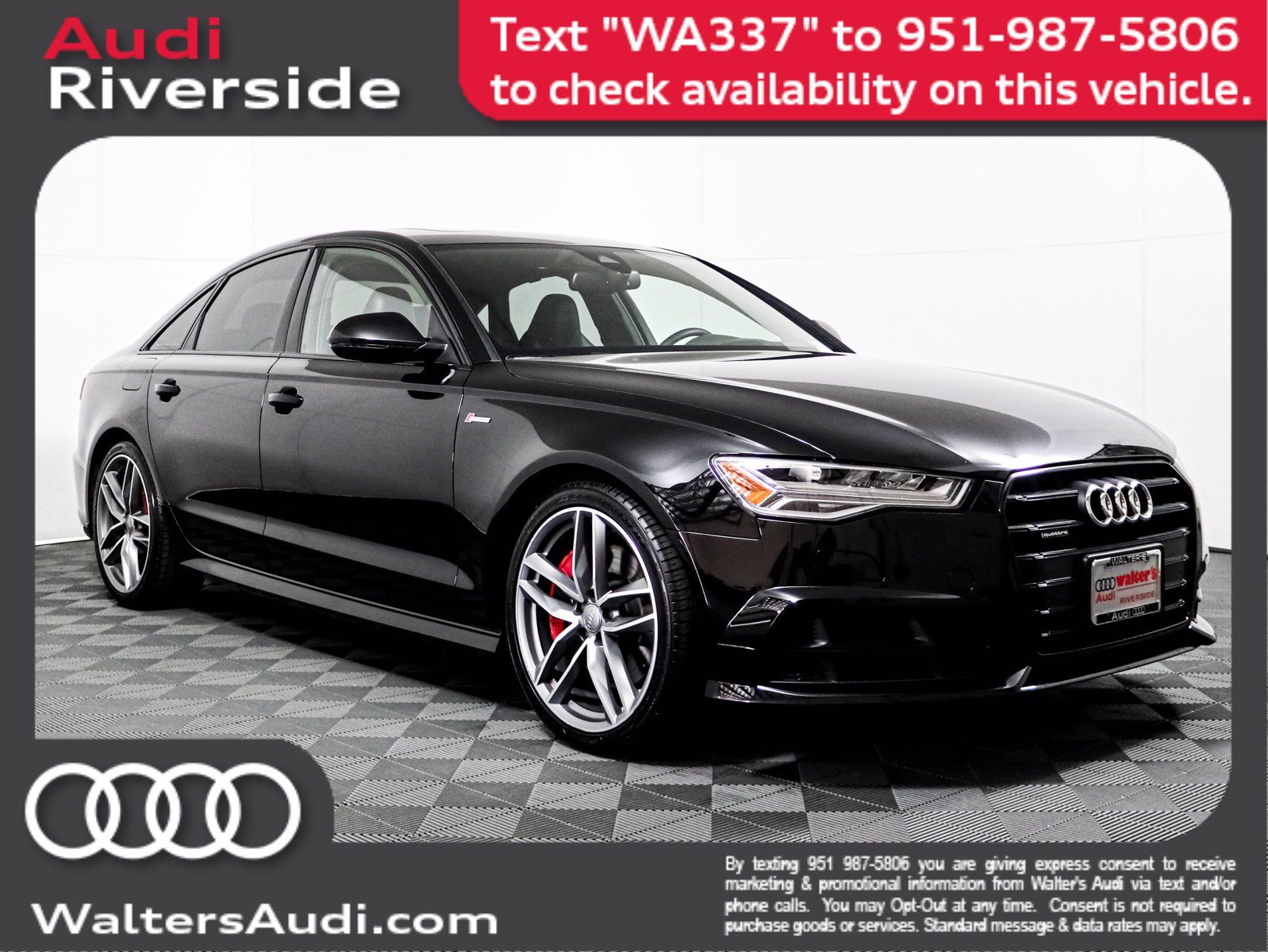 Pre-Owned 2017 Audi A6 Competition Prestige
