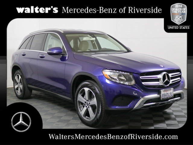 pre-owned 2018 mercedes-benz glc 300 4matic® suv near riverside