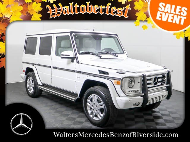 Certified Pre Owned 2014 Mercedes Benz G Class G 550 4MATIC®