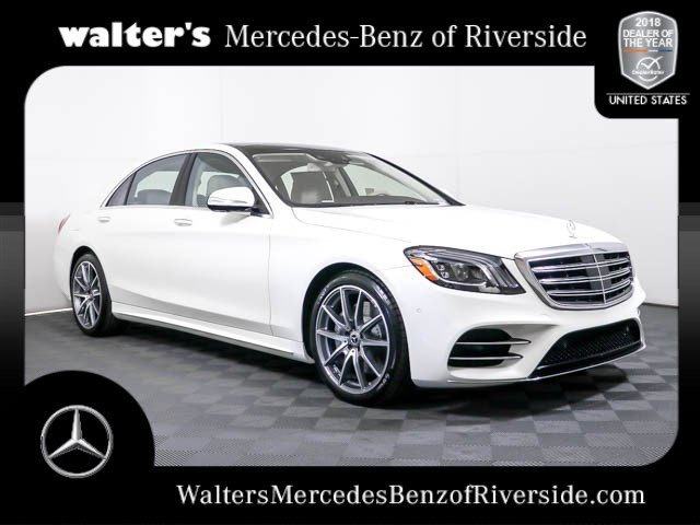 New 2019 Mercedes Benz S Class S 450 4matic Sedan Near Riverside