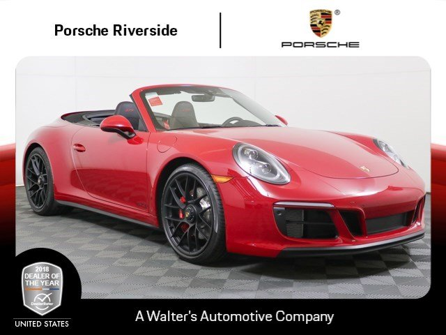 New 2019 Porsche 911 Carrera Gts Cabriolet Convertible Near