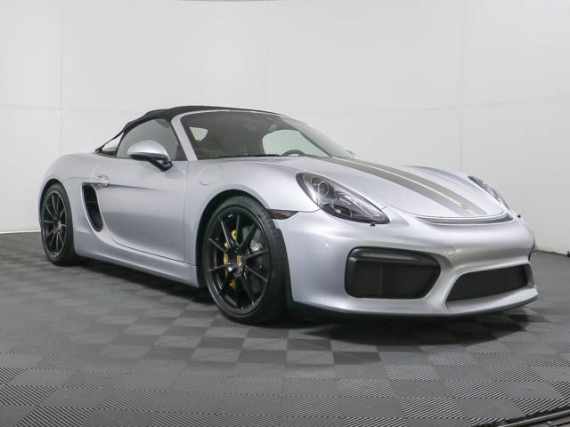 Certified Pre Owned 2016 Porsche Boxster Spyder Rwd Convertible