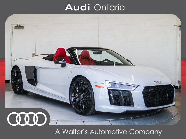New 2018 Audi R8 Spyder V10 Plus Convertible Near Riverside 3607k