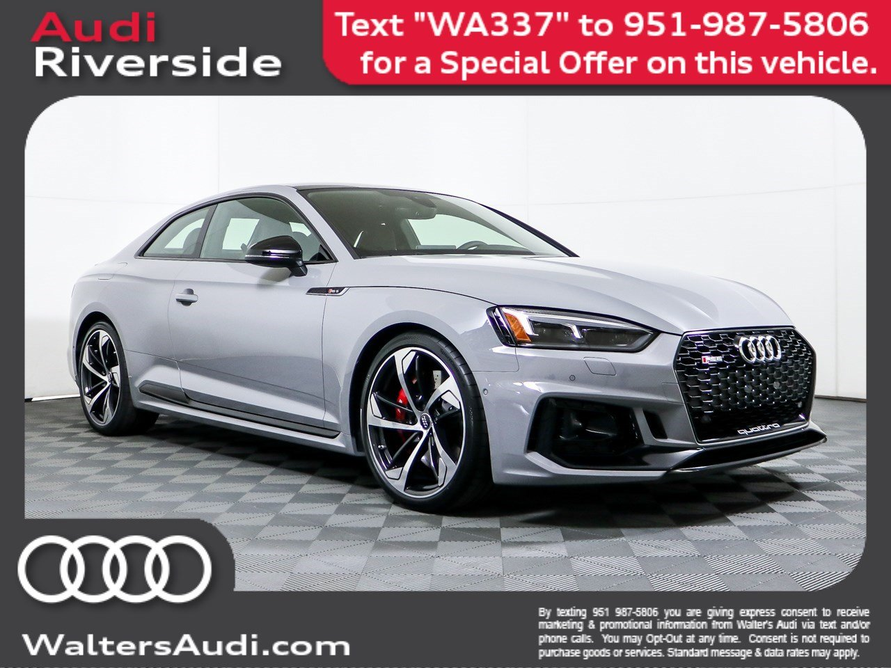 New 2019 Audi RS 5 Coupe