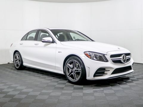 New 2020 Mercedes-Benz AMG® C 43 4MATIC® Sedan