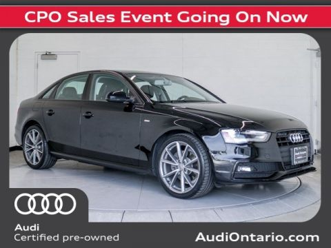 Certified Pre-Owned 2016 Audi A4 Premium