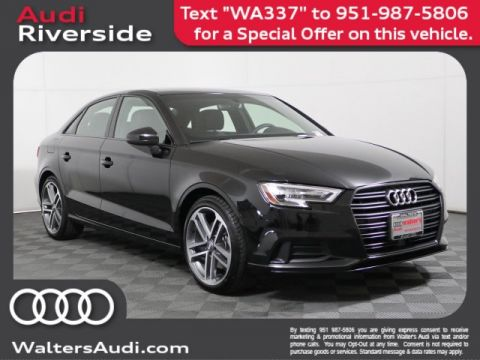 New 2019 Audi A3 Sedan Titanium Premium