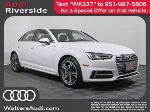 Pre-Owned 2017 Audi A4 Premium Plus