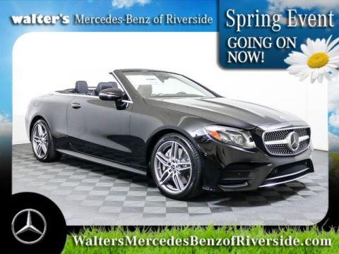 Pre-Owned 2018 Mercedes-Benz E-Class E 400 Cabriolet