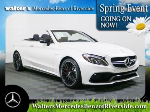 Pre-Owned 2018 Mercedes-Benz AMG® C 63 S Cabriolet