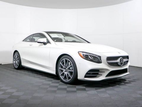 New 2019 Mercedes-Benz S-Class S 560 4MATIC® Coupe