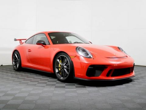 Certified Pre-Owned 2018 Porsche 911 GT3 Coupe